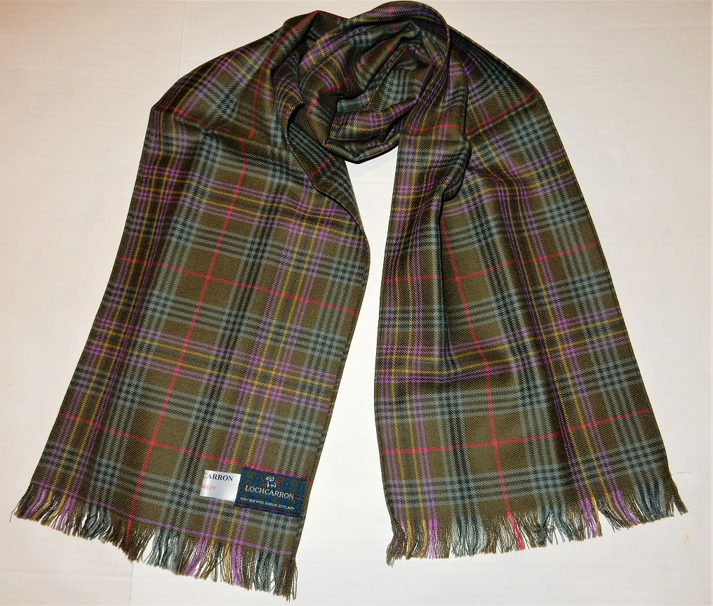 Kennedy Weathered Tartan Scarf