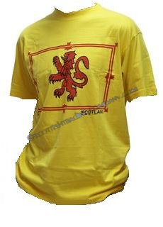 6d8d9376f Lion Rampant T Shirt [Liont] - $14.99 : The Scottish Trading Company
