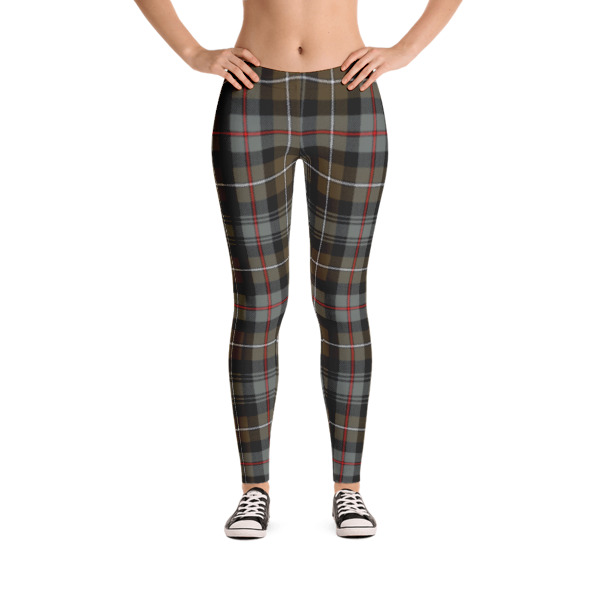 MacKenzie Weathered Tartan Leggings