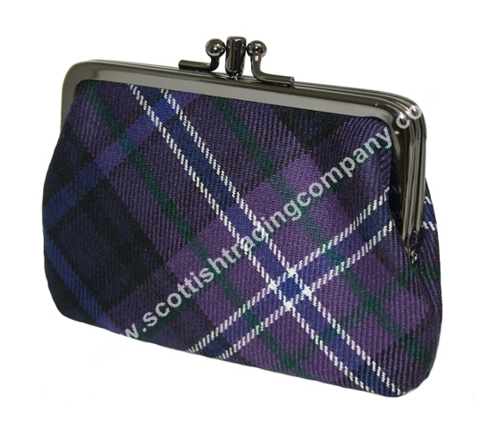 Scottish Tartan Medium Coin Purse