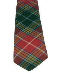 Buchanan Clan Old Weathered Tartan Tie
