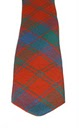 Robertson Clan Ancient Red Tartan Tie