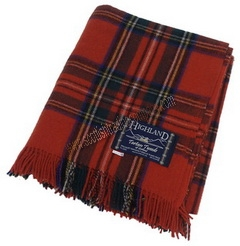 Royal Stewart Large Tartan Blanket