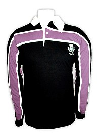 Scotland Rugby with Purple Stripe