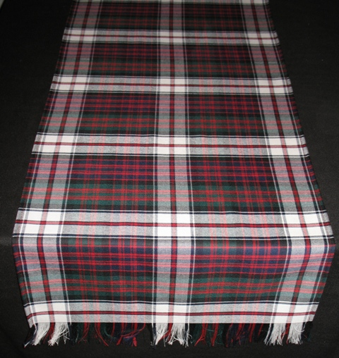 Tartan Table Runner Reiver Weight