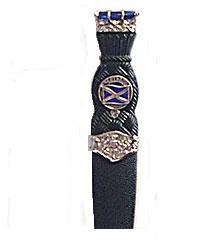 Scottish Flag Clan Crested Dress Sgian Dubh