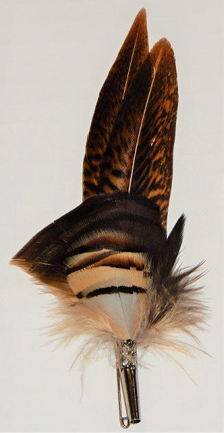 Scottish Dual Feather Plume