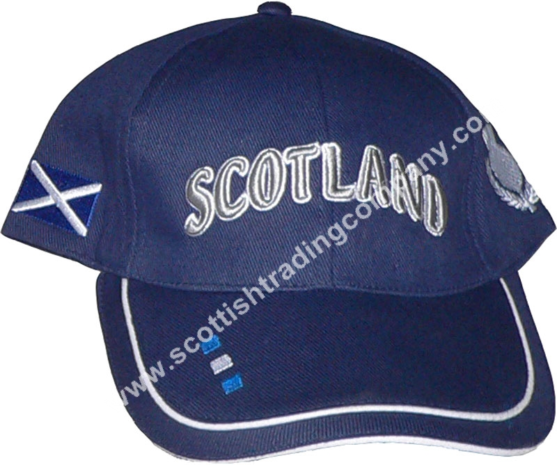 Scotland Embroidered Hat