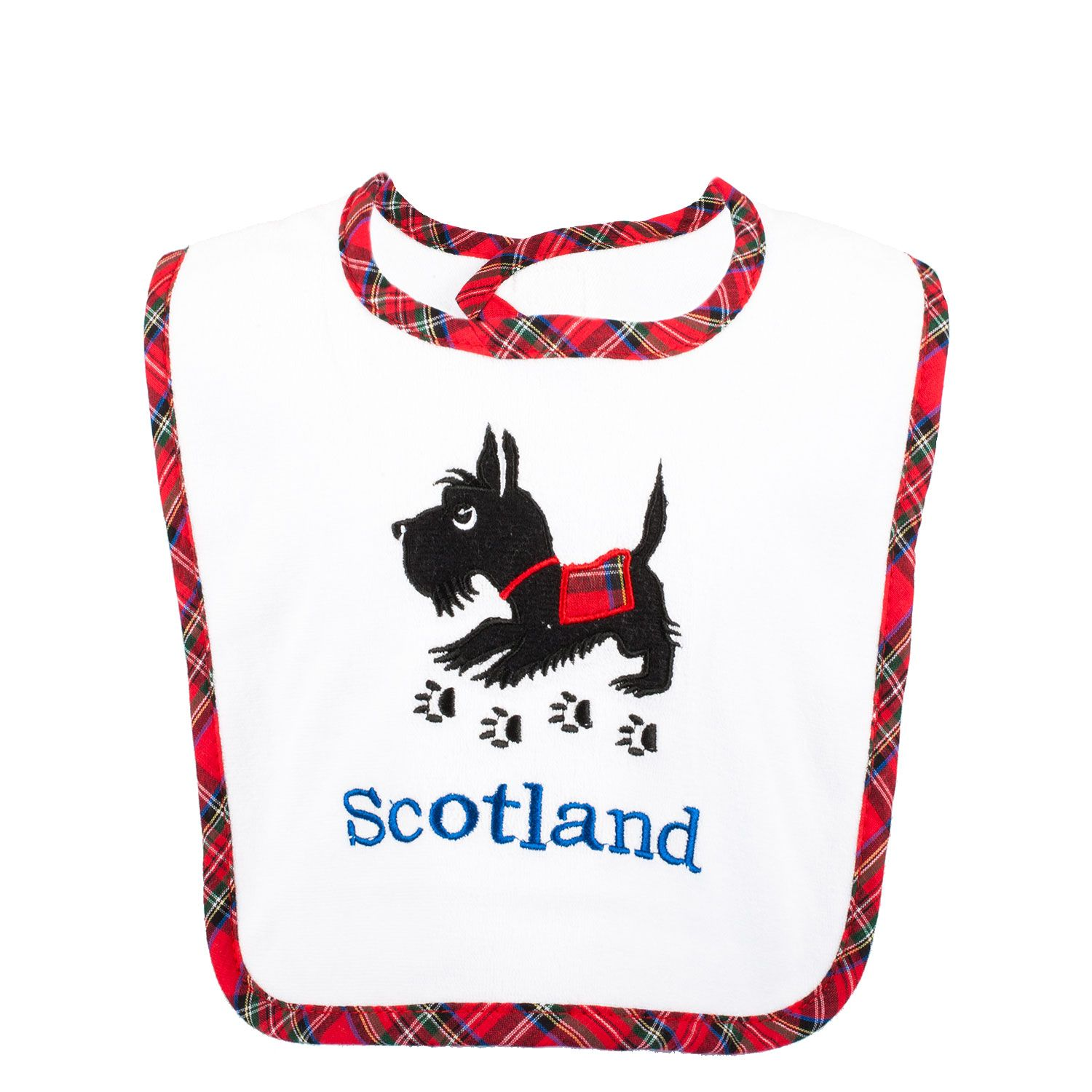 Scottie Dog Bib