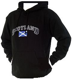 Scotland Hooded Sweat Shirt in Navy