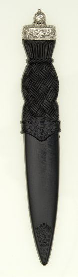 Ball Top Safety Sgian Dubh