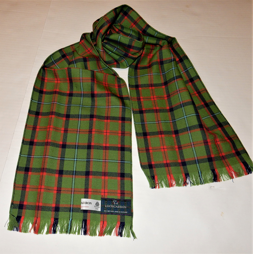 Shaw of Tordarroch Hunting Ancient Tartan Scarf