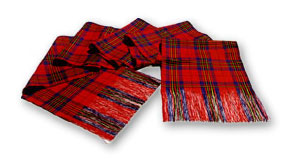 Silk Scottish Tartan Sash