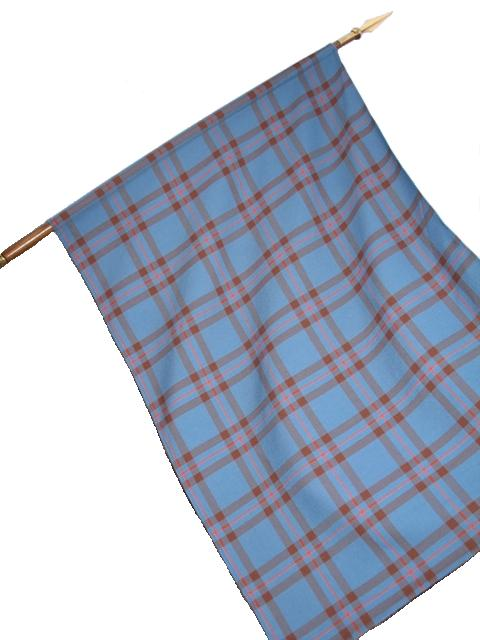 Tartan Clan Flag with Sleeve