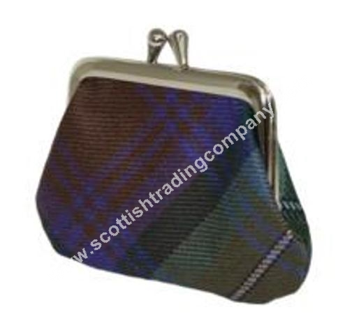 Scottish Tartan Small Coin Purse