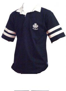 Short Sleeve Scotland Rugby in Navy Blue