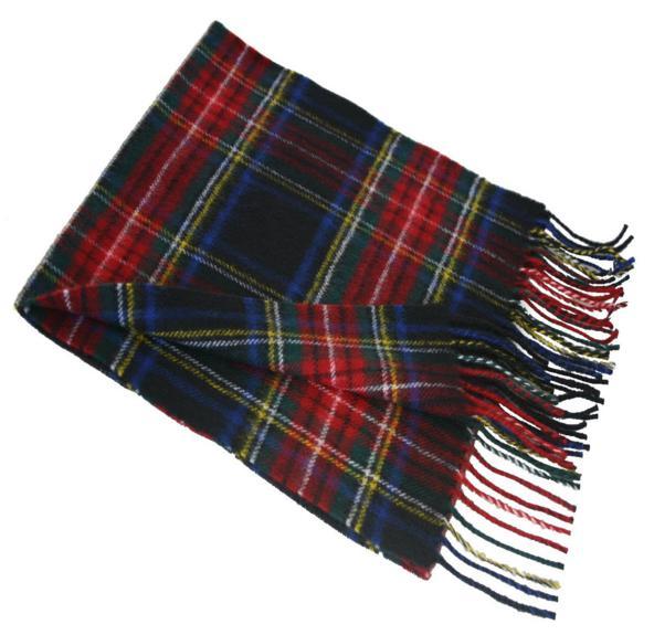 Stewart Clan Black Tartan Scarf [steblscr] - $24 99 : The Scottish
