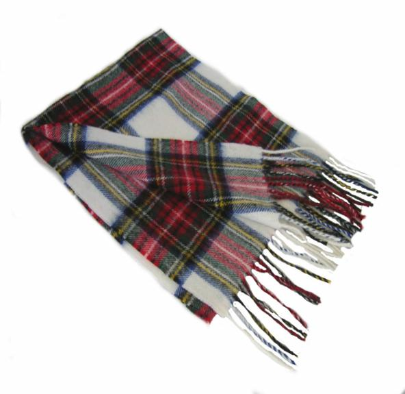 Stewart Clan Dress Tartan Scarf