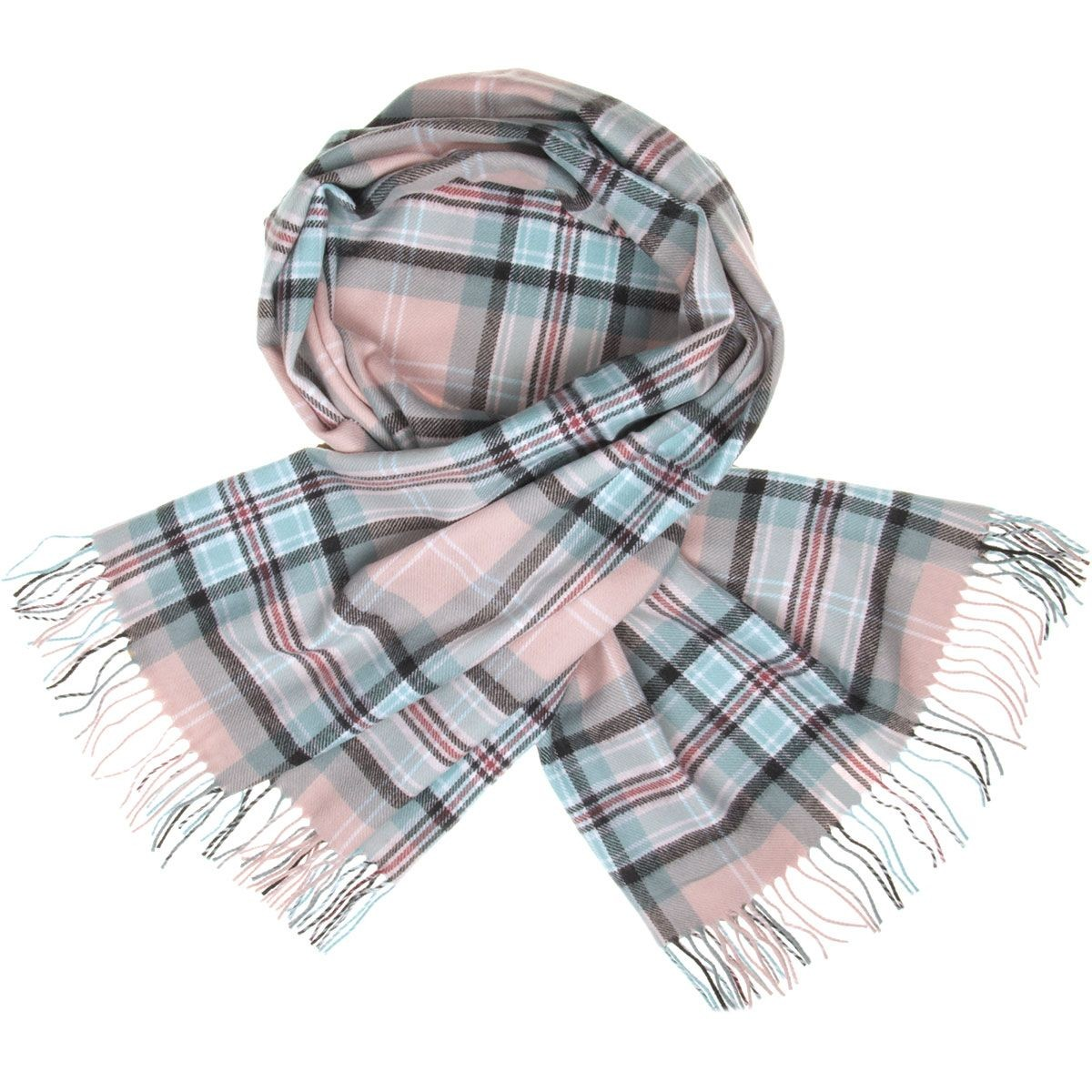 Diana Princess of Wales Memorial Rose Tartan Lambswool Stole