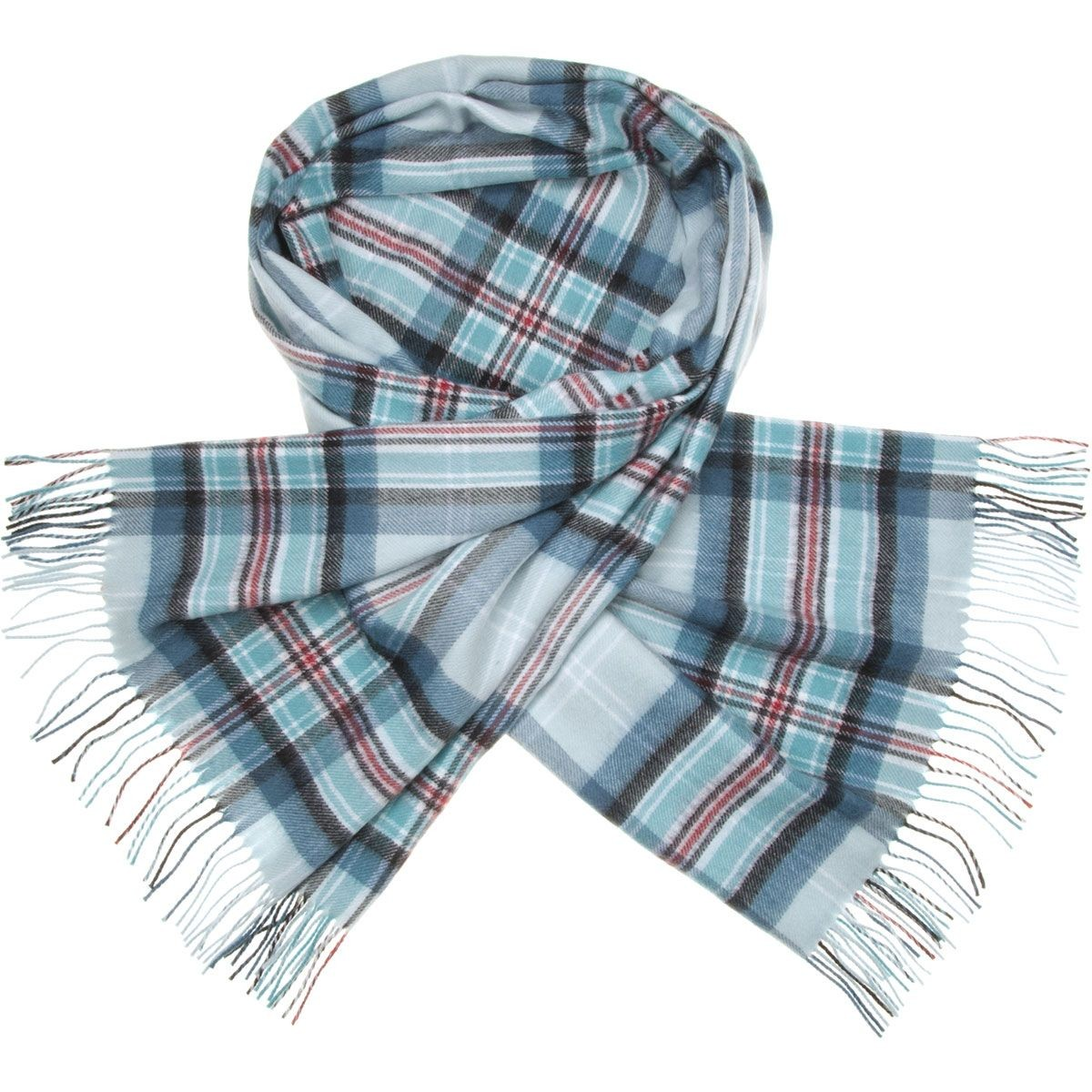 Diana Princess of Wales Memorial Tartan Lambswool Stole