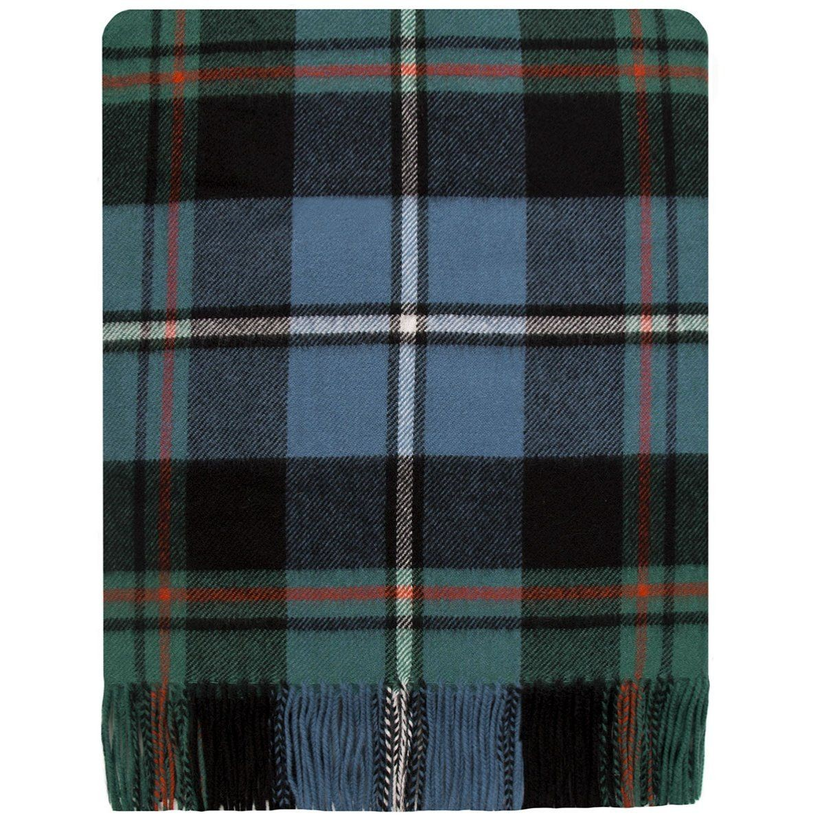 MacRae Hunting Ancient Tartan Lambswool Stole