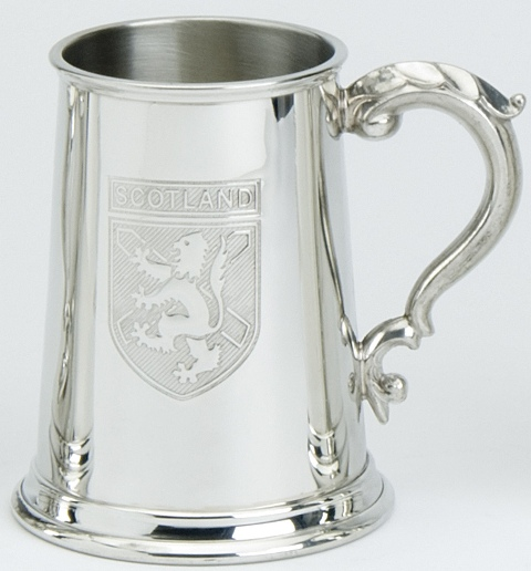 Scotland Badge Tankard