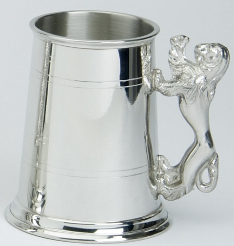 Lion Handle Tankard
