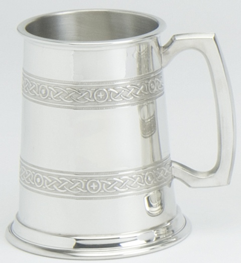 Celtic Bands Tankard - Click Image to Close