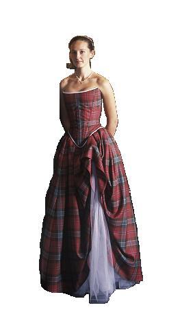 tartan gown scottish reiver tartans gwn 144999
