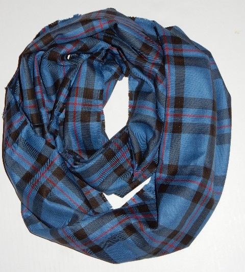Scottish Tartan Infinity Scarf - Click Image to Close