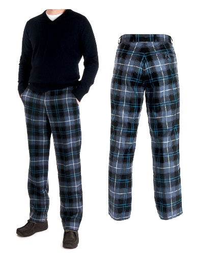 Classic Tartan Trousers - Click Image to Close