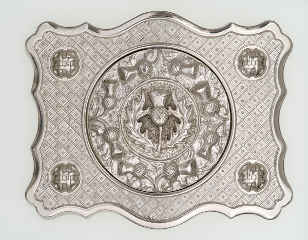 Thistle Boss Center Buckle