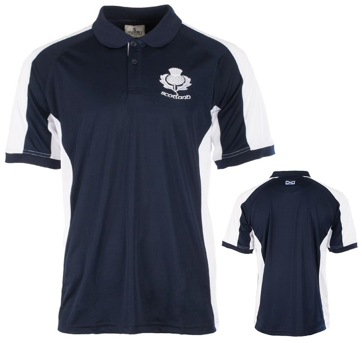 Scottish Thistle Polo