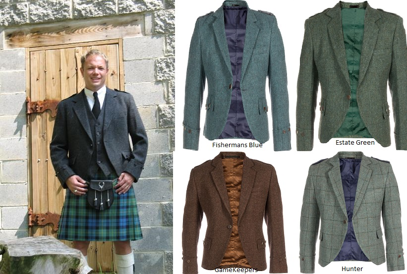 Tweed Argyll Jacket with Vest
