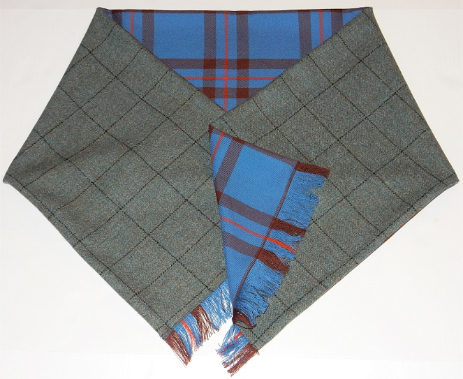 Tweed and Tartan Stole