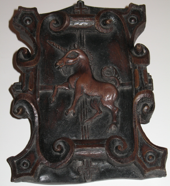 Scottish Unicorn Plaque