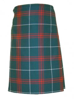 Traditional 13oz 8 Yard Welsh Tartans Kilt